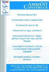 EXECUTIE LUCRARI DE TENCUIELI CONSTANTA
