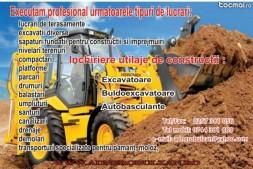 demolari, excavatii si transport