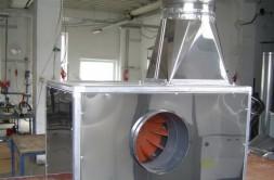 Ventilatoare industriale, centrifugale sau axiale de joasa , medie si inalta presiune neinsonorizate sau insonorizate