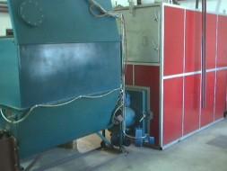Cazan cu alimentator elicoidal pentu apa calda 2300kW