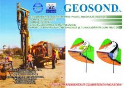 asistenta geotehnica sau geologico – tehnica la fundarea constructiilor, la executia si montarea aparatelor de masura si control