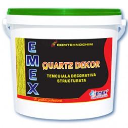 Tencuiala Decorativa Structurata EMEX QUARTZ DEKOR
