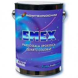 Pardoseala Epoxidica Decorativa cu Cuartz Colorat EMEX QUARTZ