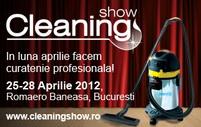 Profesionistii din industria curateniei vin la Cleaning Show - 25-28 Aprilie 2012